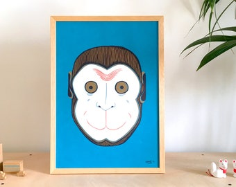 Nihon Saru | Japanese Monkey Mask