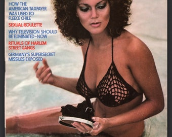 Mature Vintage Penthouse Magazine Mens Girlie Pinup : March 1978 VG+ White Pages, Complete With Intact Centerfold
