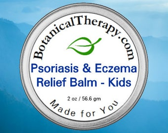 Psoriasis and Eczema Relief Balm - For Kids