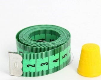 Tape measure with 150cm + thimble 16mm
