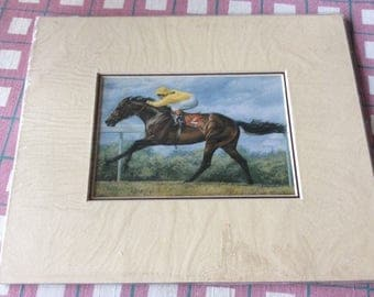 Lovely race horse print