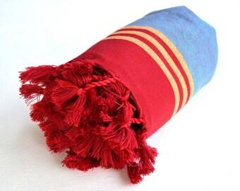 Express Shipping BEACH TOWEL - Body Towel / Yoga Towel / Peshtemal / Bath Towel / Peshtemal / Men Gift / Husband Gift  - Ç19