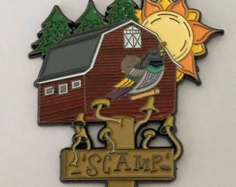 Summer Camp Pin *Free Shipping*