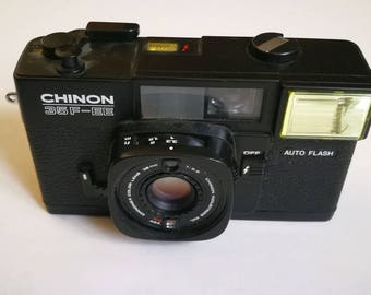 Chinon 35F-EE with New Light Seals. Ready-To-Use Vintage 1980s Auto-Exposure Camera
