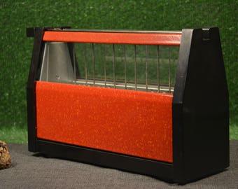Vintage toaster - DDR toaster - Vintage electric toaster - Red toaster - Kitchen decor