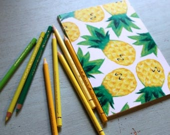 Pineapple A5 Sketchbook/Notebook