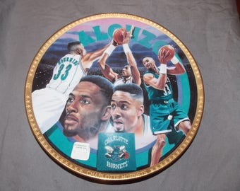 Alonzo Mourning Charlotte Hornets Collector Plate 1993 numbered
