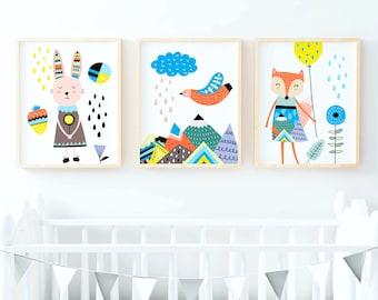 Kids room décor | Etsy