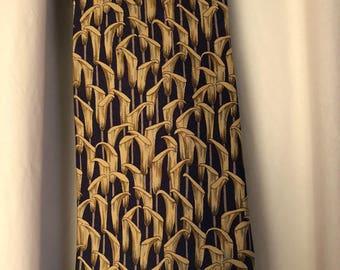 Hermes silk tie wirh box Hermes silk tie