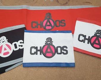 ChAos Punk Armband Seditionaries Pistols LIMITED