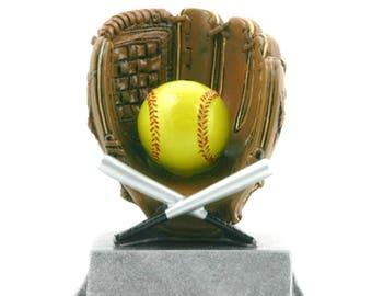 Softball Resin Award - Softball Trophy