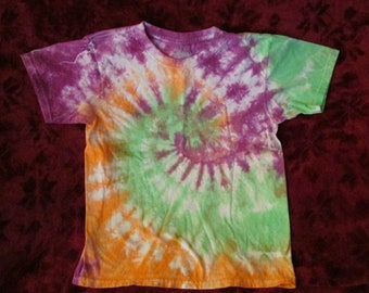 Kid's Lg Tie Dye T-shirt