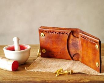 Mens Wallet, Mens leather wallet, Handmade Wallet, Leather Wallet, thin leather wallet, mens wallets