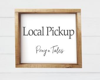 Local Pickup