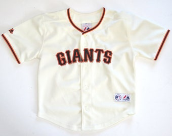 Vintage GIANTS Youth Baseball Jersey Majestic M