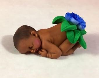 Luau Hawaiian Baby Shower Cake Topper