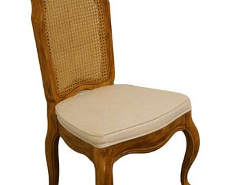 DREXEL HERITAGE Country French Cane Back Dining Side Chair 360 833 Part 98