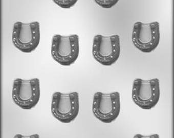 Horseshoe Candy Mold--Chocolate Candy Mold--Western Candy Mold