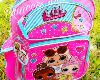 Personalized lol surprise backpack, lol surprise,  lol surprise purse, lol surprise party crafts,  lol surprise party, gifts, birthday gifts