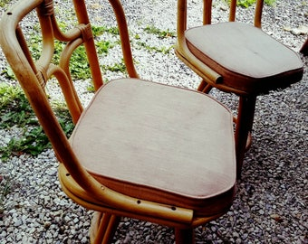 Vintage patio chairs bamboo chairs set of chairs