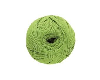 Cotton knit or crochet No. 13 pistachio Natura