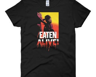 Eaten Alive Ladies T-Shirt