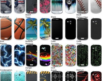 Choose Any 2 Designs - Vinyl Skins / Decals / Stickers for Samsung Galaxy S3 (S III) - Android Smartphone