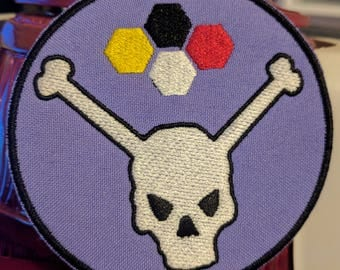 """MST3K Bonehead 3.5"""" Embroidered Patch Mystery Science Theater 3000"""