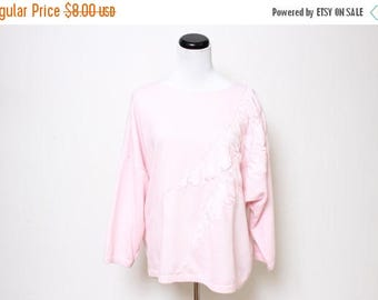 25% OFF VTG 80s Pretty in Pink Origami Rushed Baby Comfy Sweater XL/Xxl