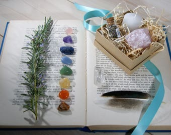 Chakra Crystals Set. Chakra Set. Chakra Stones. Gemstones. Reiki. Crystal Healing. Healing Crystals Set. 7 Chakra Set.