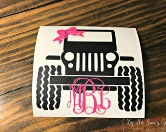 Jeep Life Decal Etsy - Jeep vinyls for yeti cups