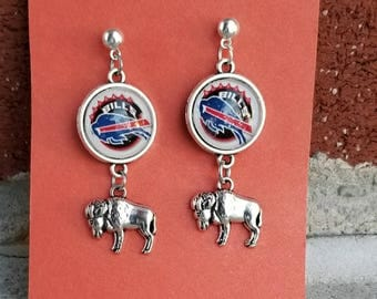 Buffalo Bills Earrings your choice of image