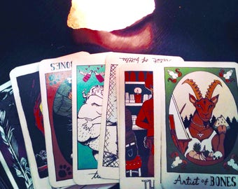 Tarot Reading - 3 Card Spread - Past, Present, Future - Oracle - Psychic Guidance - Divination - Clarification Spread