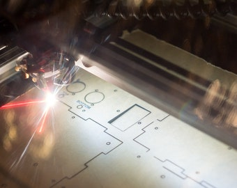 Custom Laser Cutting - Affordable and Full Service!