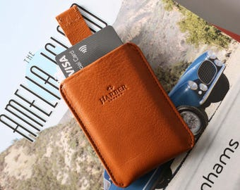 RFID Card Holder | Leather RFID Credit Card Holder | Slim RFID Card Wallet