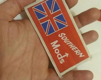 Mods , vintage patch 80s . England .
