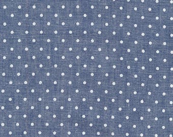 Robert Kaufman Sevenberry Classiques Chambray Collection| # SB4101D13 Royal Chambray | By the yard