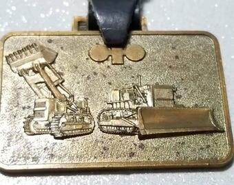 Vintage Watch Fob Komatsu, LTD Tokyo Japan