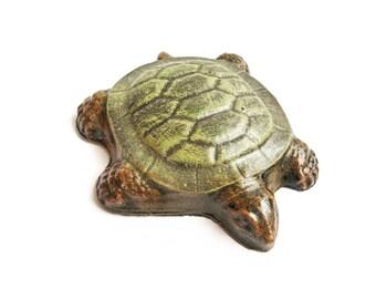 Garden turtle - Turtle gifts - Garden gifts - Garden decor - Garden art - Garden statue - Turtle art - Yard art - Yard decor - Yard turtle