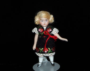 Meet Leia, a little Tyrol doll with a sweet but slightly stern personality