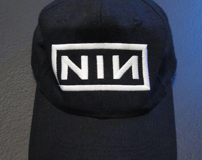Nine Inch Nails Logo vintage Snapback Hat