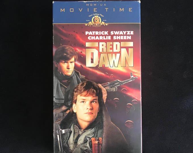 RED DAWN 1984 Vintage Movie VHS