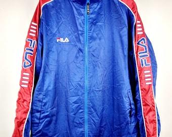 Vintage Fila Sports Sportswear Windbreaker Jacket X-Large