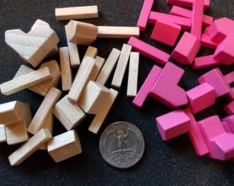 Catan Pieces Standard Set (settlements, cities, roads)
