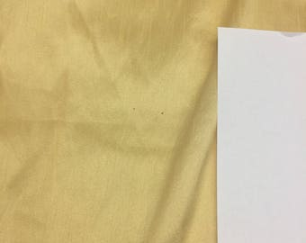 light yellow Shantung Faux Silk Polyester Drapery Fabric  by the yard 40 colors