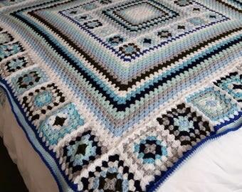 Vintage style blanket