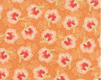 Moda SOMERSET Quilt Fabric 1/2 Yard By Fig Tree & Co - Persimmon 20238 11