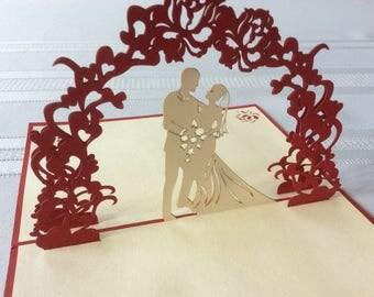 WEDDING ARCH Pop-Up Card