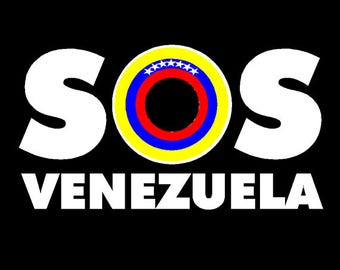 Venezuela SOS Car sticker