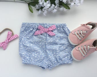 Floral baby bloomers, baby bloomers, baby girl bloomers, shorts, baby girl shorts, baby bloomer shorts, girl summer shorts, summer clothes